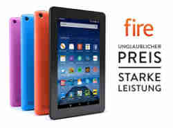 Fire-Tablet, 7 Zoll Display, WLAN, 8 GB