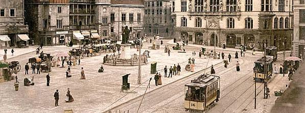 Marktplatz von Internetstadt